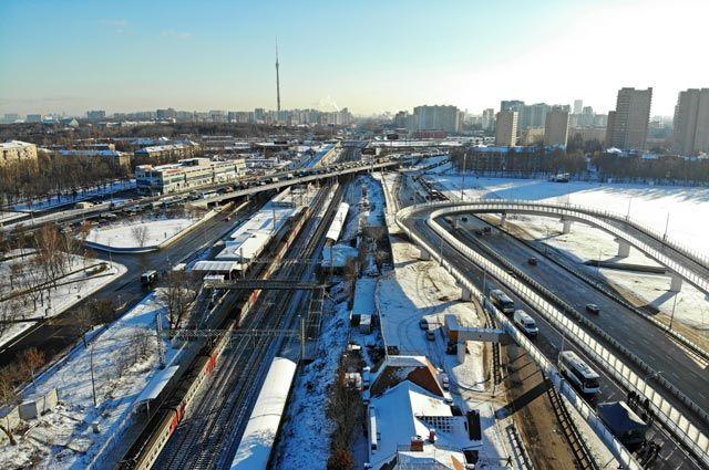 В 2018 г. в Москве построено 127 км дорог.