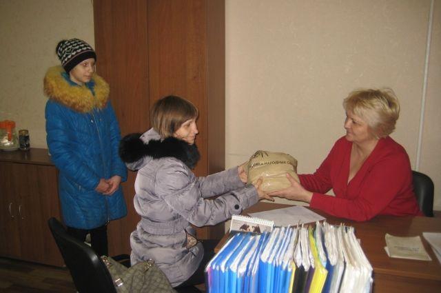 Продуктовый набор - отличная помощь для любой семьи.