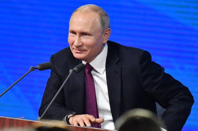 В этом году Путин общался с журналистами 3 часа 40 минут.
