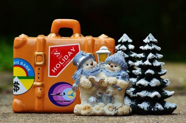 В Новогодние каникулы можно отправиться в путешествие в соседние регионы.