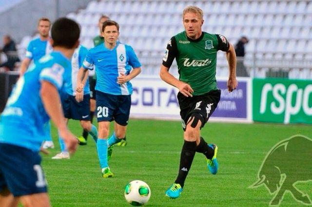 Юрий Газинский в форме ФК