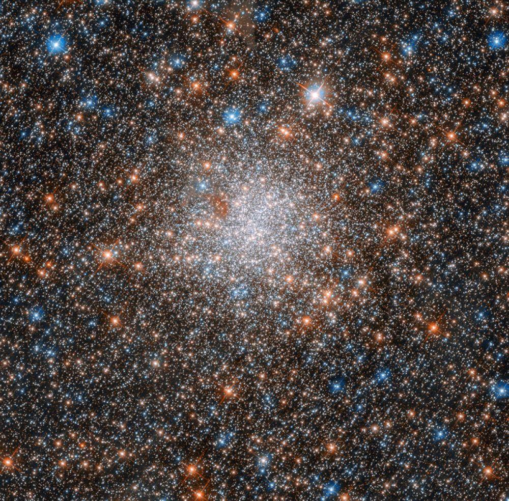 Шаровое звездное скопление в созвездии Золотая Рыба.