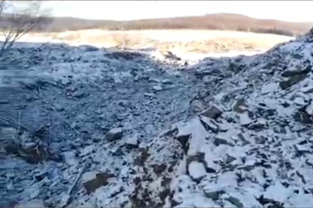 Пока следы метеорита не нашли.