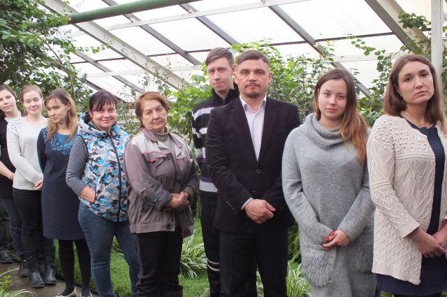 Забайкальский ботанический сад сегодня – это работа дружного коллектива.