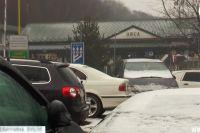 Брошенные автомобили в поселке Убля в Словакии.