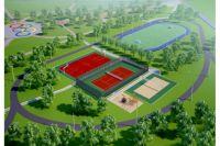 Таким будет Олимпийский парк в Тамбове.
