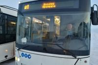 В Лабытнанги привезли четыре новых низкопольных автобуса