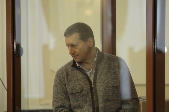 Олег Сорокин в зале суда.