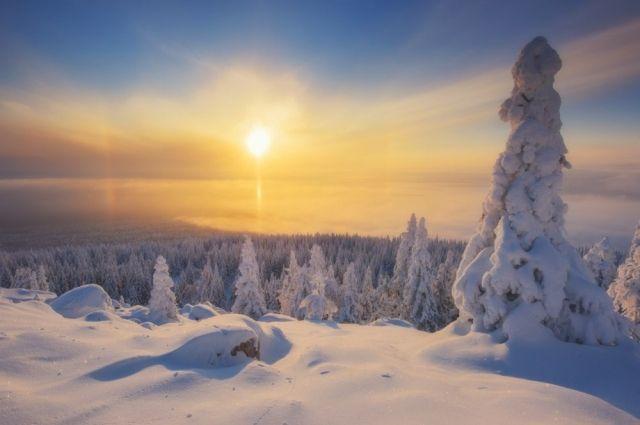 На Южном Урале живописные виды можно найти и летом, и зимой.