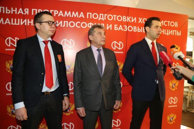 Методику преподавания хоккея презентовали в городе.