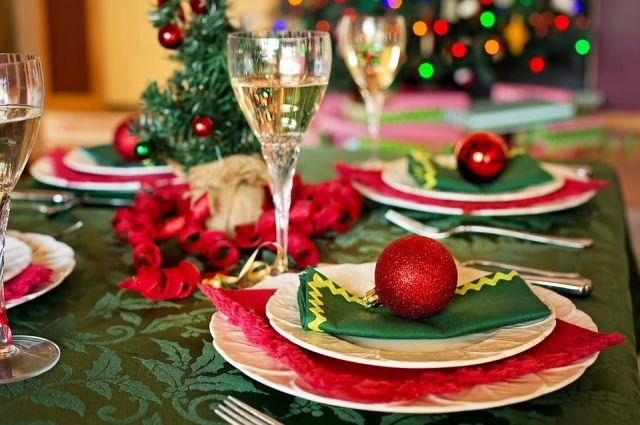 Новогодний стол обходится недешево.
