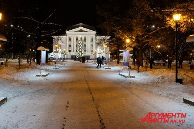 Новогодняя ночь будет умеренно морозной.