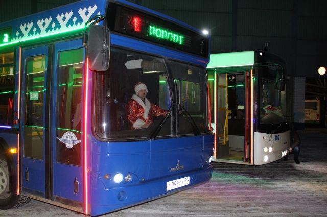 Рождественские автобусы развезут тюменцев после службы