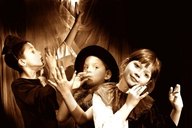 Дети из театра «Пиано» верят в волшебство. И помогают поверить в него взрослым.