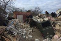В Херсонской области из-за мощного взрыва рухнул дом: четыре пострадавших