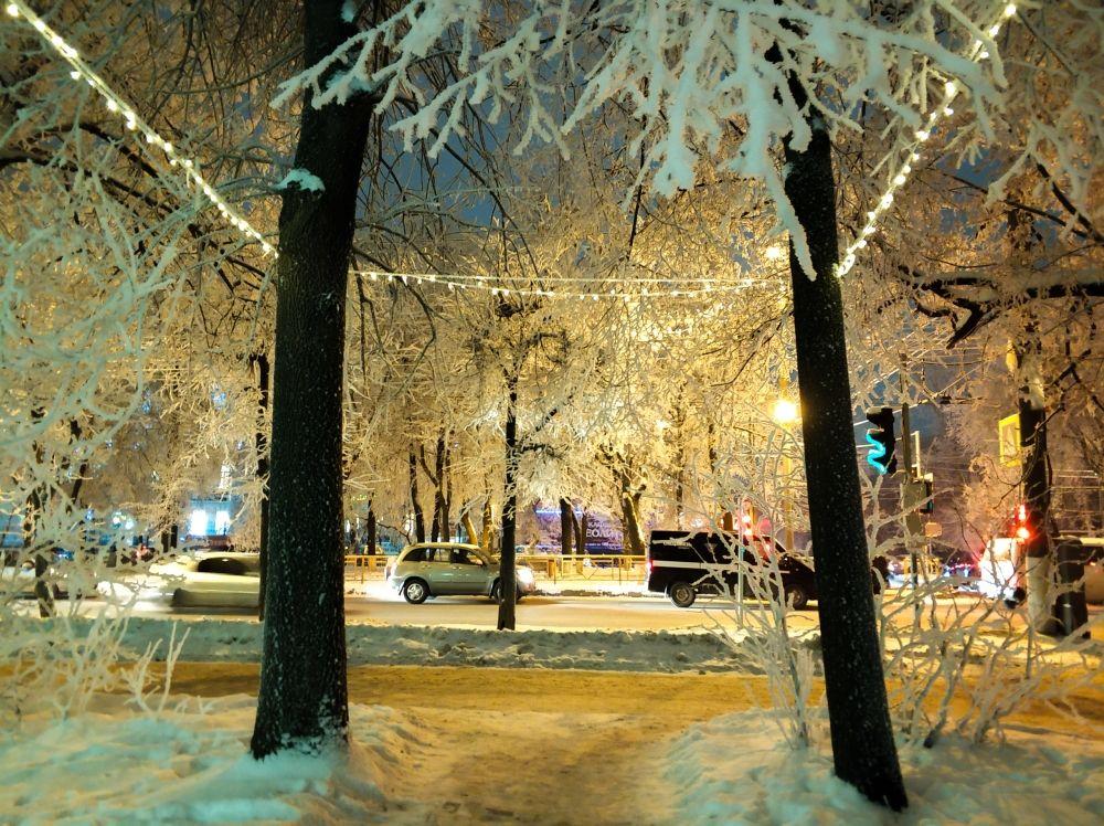Прогуляйтесь по новогоднему Кирову, не пожалеете!