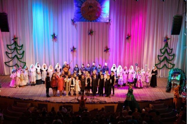 Более тысячи юных оренбуржцев увидят Архиерейскую елку