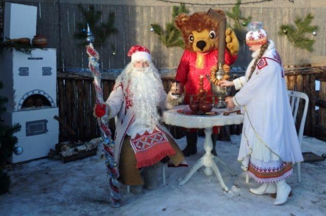 каждого народа есть свой зимний «волшебник», у чувашей это - Хёл Мучи.
