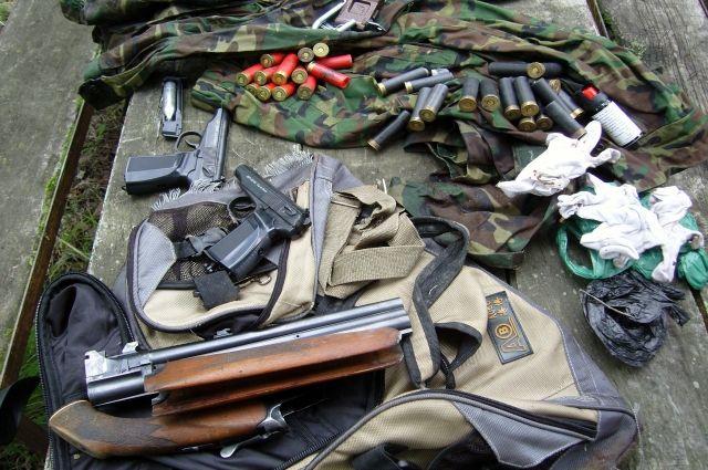 В Хабаровском крае полиция взялась за оружие.