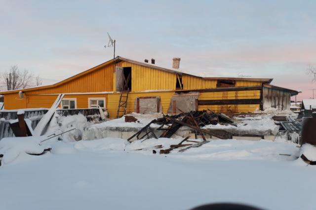 В селе Толька тушили жилой дом 1988 года постройки