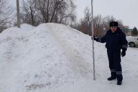 В Соль-Илецком ГО обнаружены опасные снежные горки