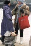Москва предновогодняя. Поросенок к праздничному столу. 1987 год.