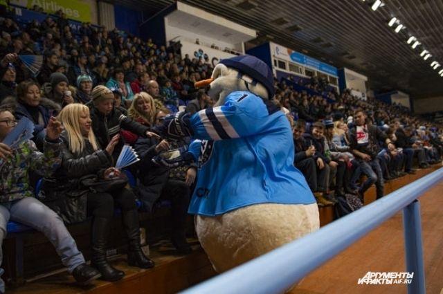 «Сибирь» порадовала болельщиков.