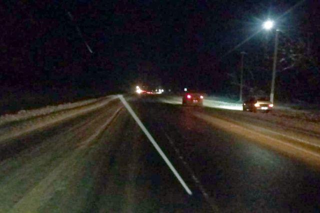 На зимней дороге нужно быть крайне осторожным