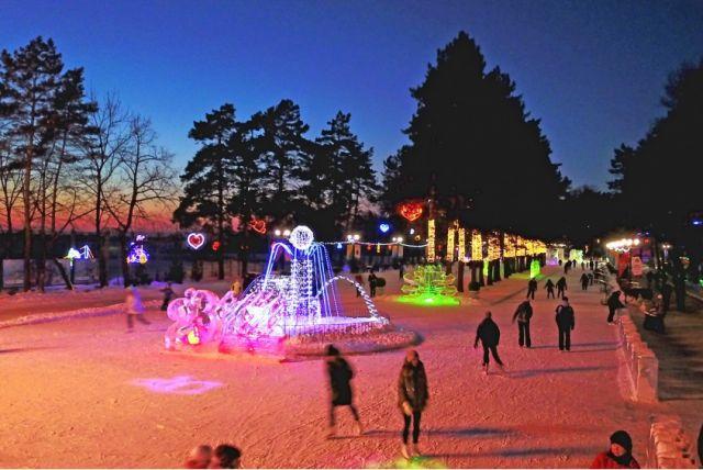 Главным событием станет встреча Нового года на центральной набережной Хабаровска
