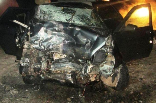 Авария произошла вечером 28 декабря.