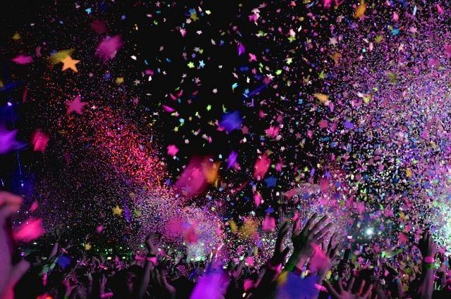 Новый год - время веселых вечеринок.