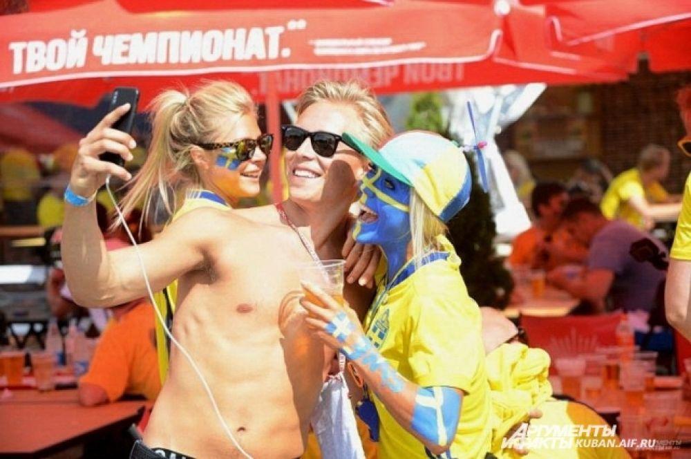 Чемпионат мира по футболу. На фото: на праздник спорта в Сочи приехали болельщики со всего мира.
