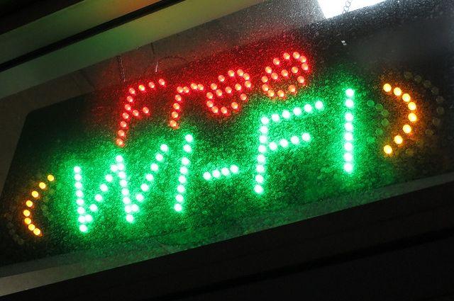 В Зеленоградске заработали две зоны бесплатного Wi-Fi