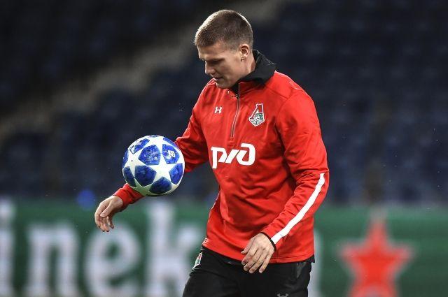 Денисов остается в «Локомотиве», но с пониженной зарплатой
