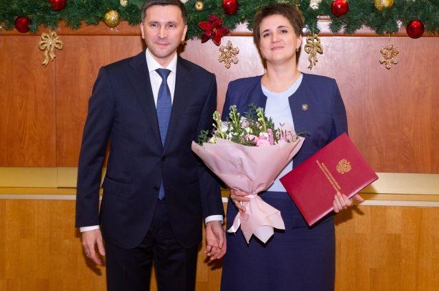 Директор «Заповедников Оренбуржья» Рафиля Бакирова получила благодарность Президента России.