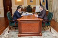 Губернатор Ямала провел рабочую встречу с Кириллом Албычевым