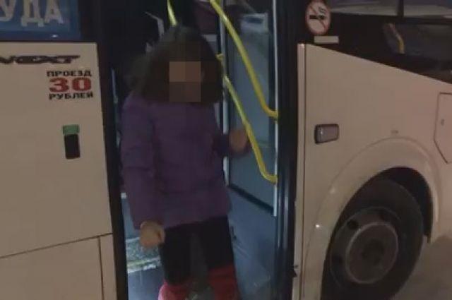 Жительница Омской области оставила дочку в маршрутке