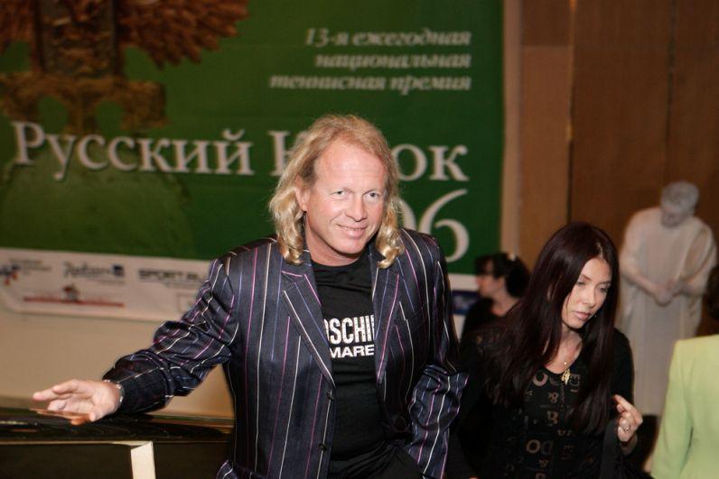 Крис Кельми на теннисной премии «Русский Кубок». 2006 г.