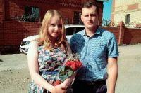 Иван Лемясев с сестрой Анной Паньковой.