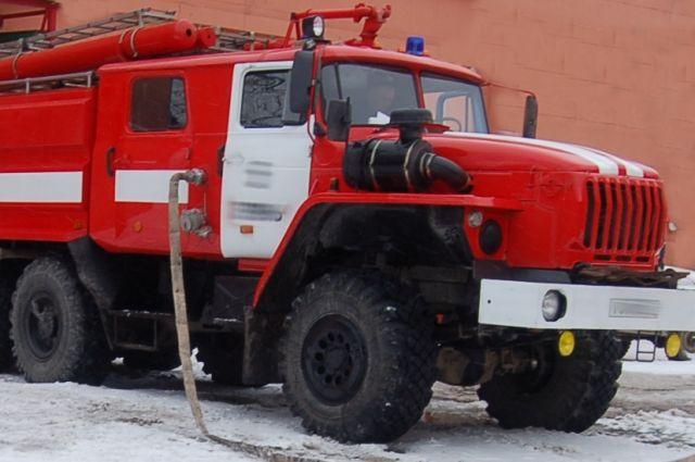 Площадь пожара составила 15 кв. метров.