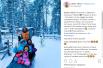 Сергей Бабкин отправился вместе с семьей в Лапландию, Финляндия. Интересно, нашел ли он там Санта Клауса?