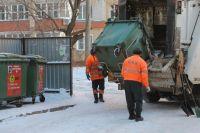 В Тюмени мусор вывозят исправно