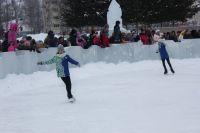 Жители Ишима в рамках флешмоба нарисуют огромную картину на льду