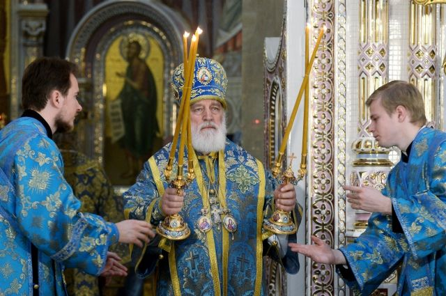 Митрополит Минский и Заславский, патриарший экзарх всея Беларуси Павел.