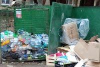 За праздники Красноярск погряз в мусоре.