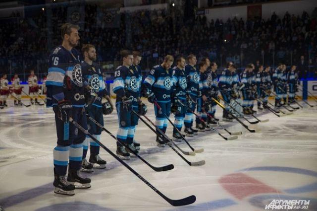 Хоккейная «Сибирь» потерпела разгромное поражение от «Спартака»