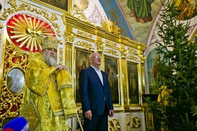 В храмах Оренбуржья прошли праздничные богослужения.