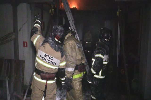 Пожар был полностью ликвидирован.