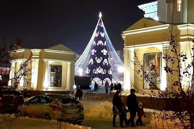 Главная елка, Тюмень.