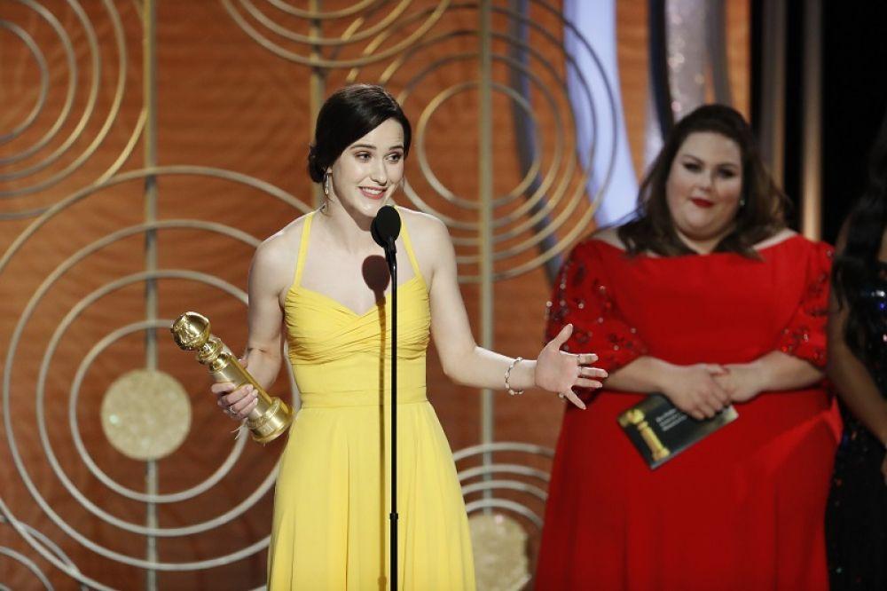 Лучшая актриса в телесериале (комедия или мюзикл): Рэйчел Броснахэн.